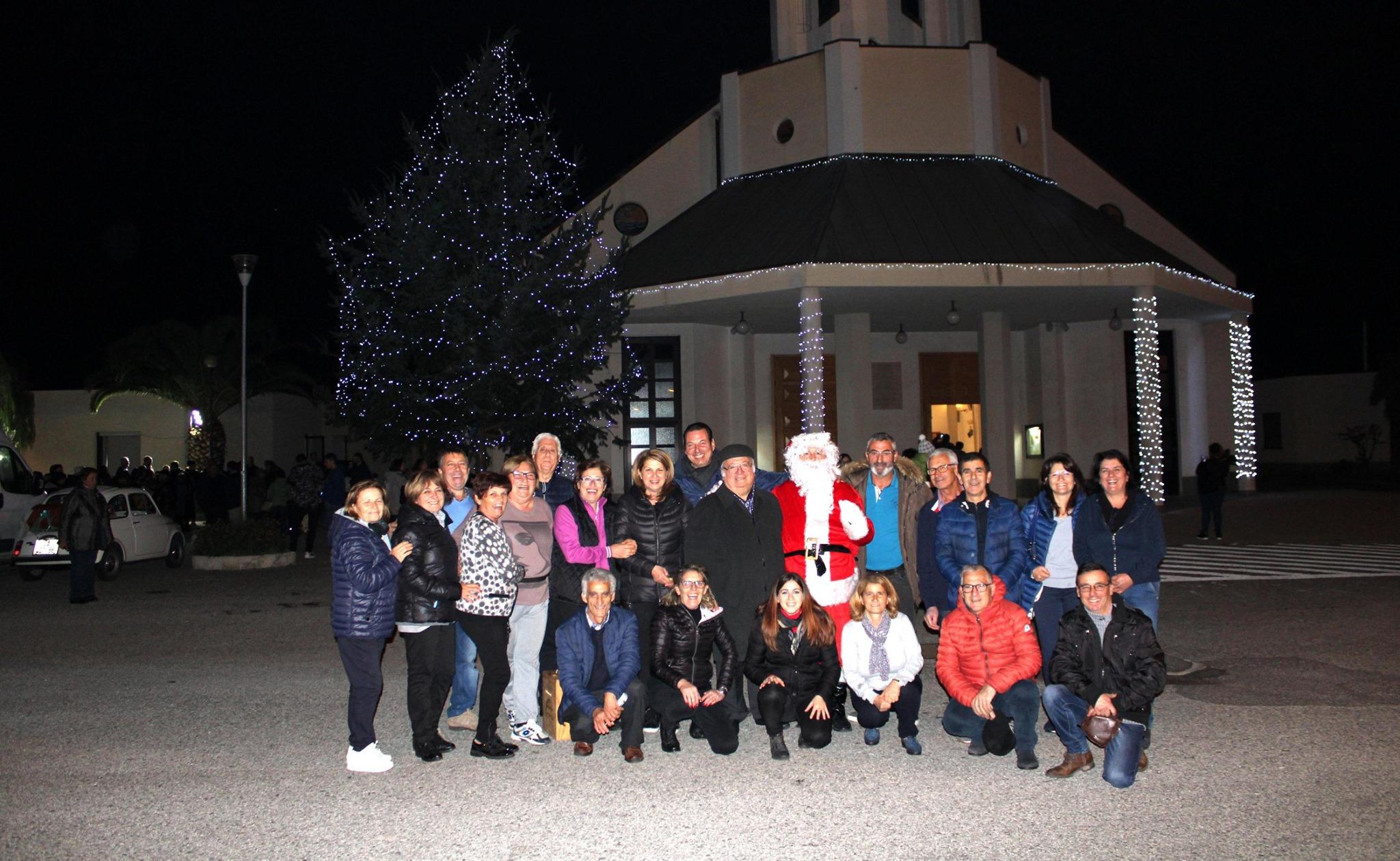 Accensione albero Natale 2019